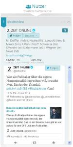 Tame unterstützt auch die klassischen Twitter-Funktionen: reply, retweet, favorisieren, folgen und zu einer Liste hinzufügen. Foto: Screenshot