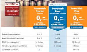 Strato-Hosting-Angebote (Screenshot strato.de)