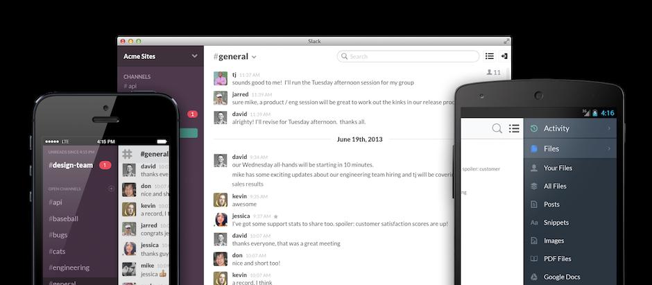 Slack.com funktioniert auf fast allen Plattformen. (Foto: Slack.com