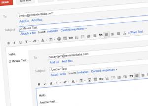 Reminderbaba.com erinnert ganz einfach per E-Mail an Termine (Foto: Screenshot)