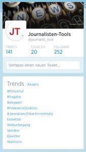 Häufig genutzte #Hashtags zeigt Twitter.com als Trends an. (Foto: Screenshot)