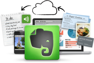 Screenshot: Evernote.com