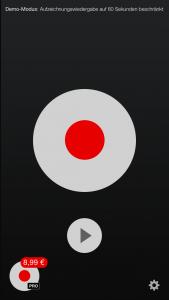 Tape A Call ermöglicht es, Telefonate mitzuschneiden. (Screenshot: Tape A Call)
