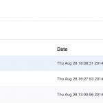 Monitorbook zeigt chronologisch die geänderten Überschriften auf einer Website (hier RP ONLINE) an. (Foto: Screenshot)