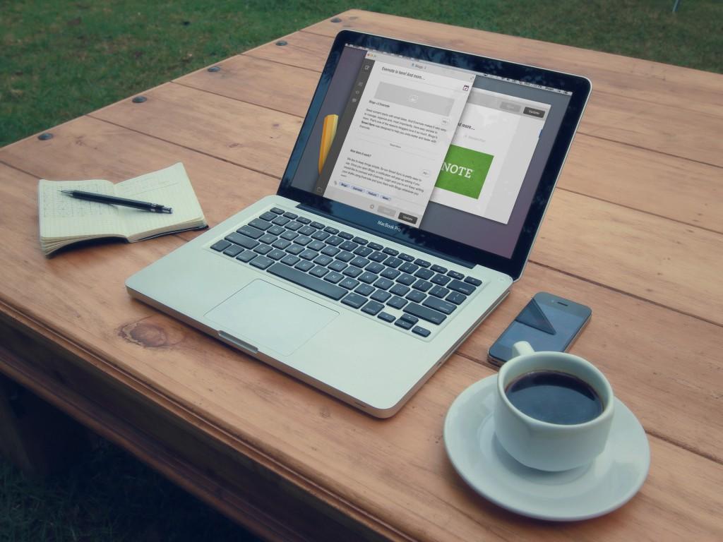 Blogo - ideal zum konzentrierten Schreiben von Blog-Beiträgen (Foto: Getblogo.com)