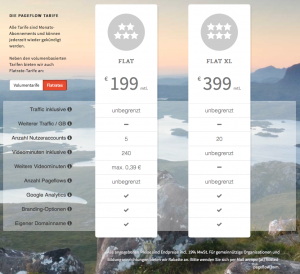 Pageflow.io bietet ab sofort zwei Faltrate-Tarife an (Foto: Screenshot pageflow.io)