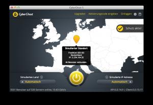 Cyberghost in Aktion: Sicheres Surfen in öffentlichen WLAN-Netzen (Foto-Hersteller)