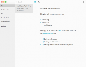 Letterspace für Mac (Foto: Screenshot)