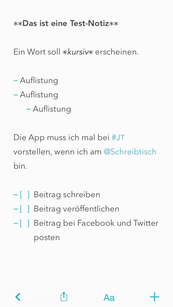 Letterspace für iOS (Foto: Screenshot)