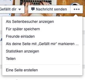 Facebook: So speichern Sie Seiten (Foto: Screenshot)