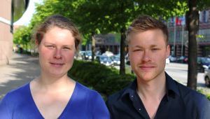 Daniela Späth und Michel Penke