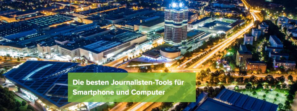 """VDZ-Seminar: """"Die besten Journalisten-Tools für Smartphone und Computer"""""""
