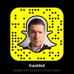 Snapcode von Frank Feil (Foto: Twitter.com)
