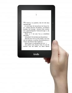 Kindle Voyage - das Top-Gerät der Kindle-Reihe (Foto: Amazon.de)
