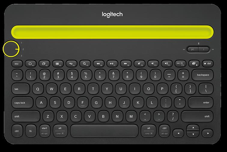 Die Logitech K40 kann Smartphones und Tablets stabil halten (Foto: Logitech.com)