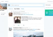 Weißraum satt: Dashboard soll vor allem schlicht und übersichtlich sein (Foto: Screenshot)