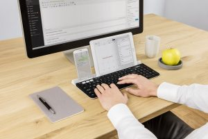 Logitech K780: Eine Tastatur für Computer, Tablet und Smartphone (Foto: Logitech.com)