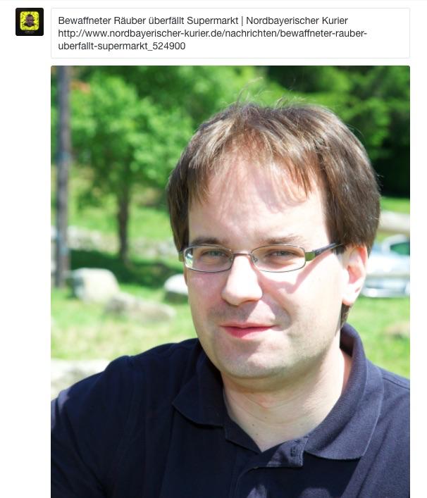Und fertig ist der Tweet mit tollem Foto. Screenshot: Uwe Renners