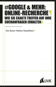 Google & mehr: Online-Recherche (Foto: Verlag)